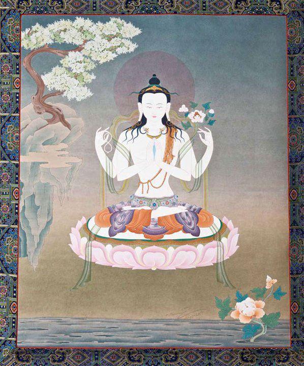 chenresig por SS Karmapa